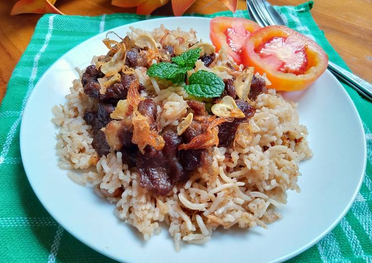 Resep Nasi Kebuli enak dan mudah