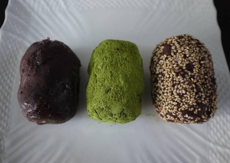 5 Minute Recipe of Vegan Easy Ohagi and Botamochi Rice Cakes