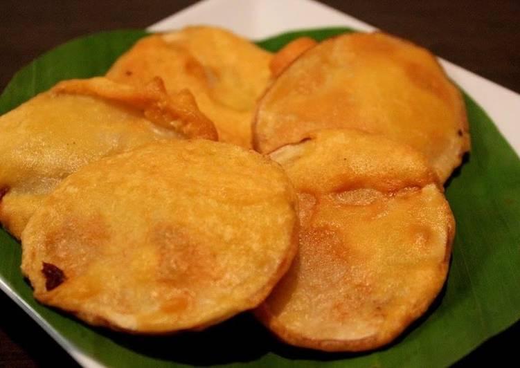 Gram flour fried potatoe