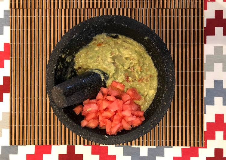Guacamole estilo tropical