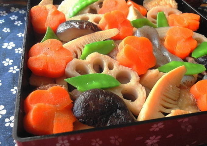 For the New Year's Feast: Standard Chikuzen-ni (Simmered Chicken and Vegetables)