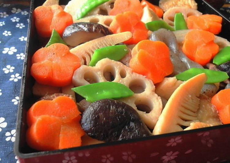 Easy Homemade For the New Year's Feast: Standard Chikuzen-ni (Simmered Chicken and Vegetables) Recipe
