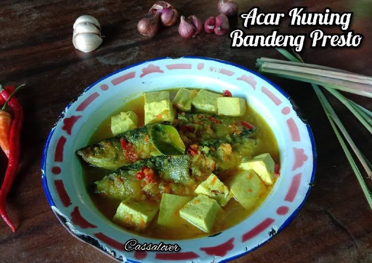 Acar Kuning Bandeng Presto - cookandrecipe.com