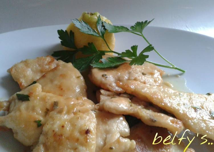 How to Make Delicious Easy Chicken Breast Lemon Sauté