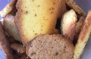 Bánh quy bơ sữa cho baby,giòn tan khi cho vào miệng ?