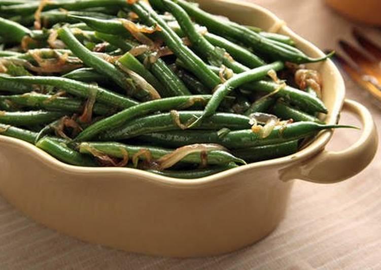 Recipe of Ultimate Sautéed Green Beans Recipe