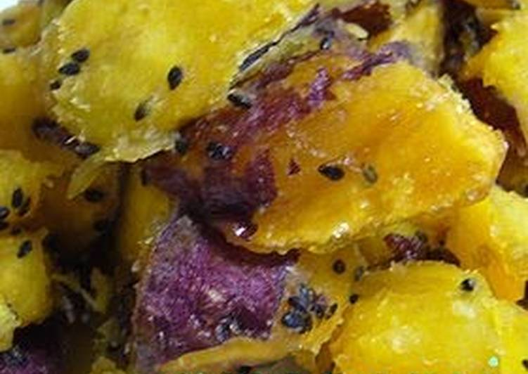 Recipe of Homemade Sweet Potatoes Candied in the Rice Cooker