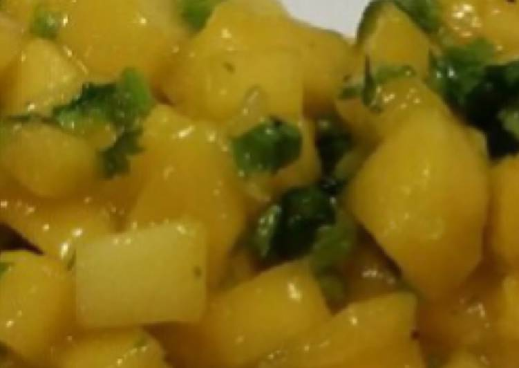 Simple Way to Make Favorite Mango Salsa