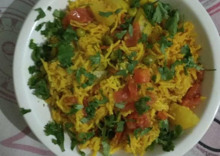 Easiest Way to Prepare Quick # peas pulao