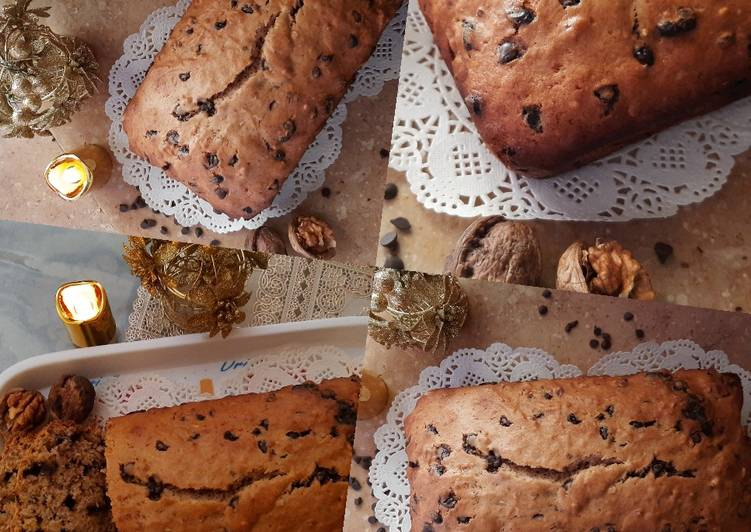 Easiest Way to Prepare Perfect Walnut Banana Bread