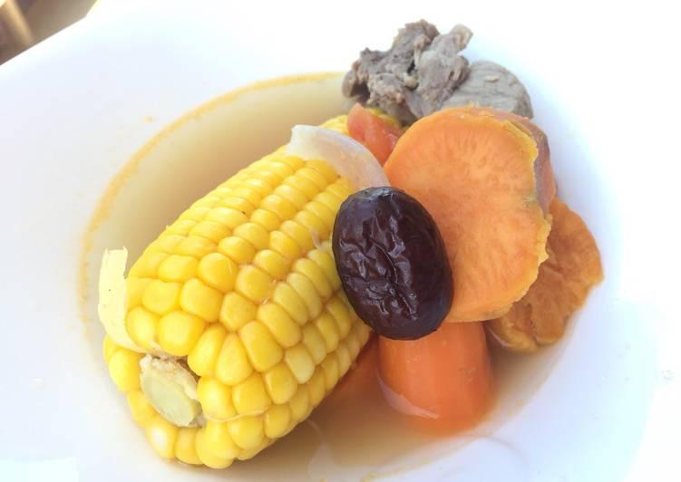 Recipe of Homemade ABC Pork Soup