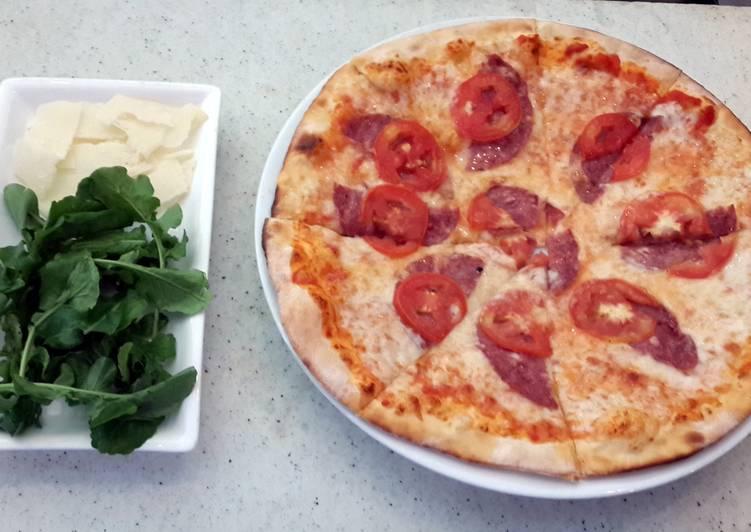 Pizza Alla Rughetta (Thin Crust)