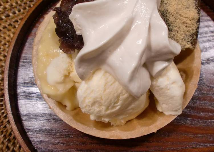 Recipe of Favorite You Can Always Use Whip 10~ Japanese Style Kinako