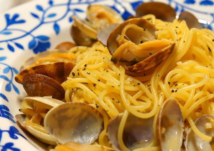 Easy Homemade Easy Clam Pasta Recipe