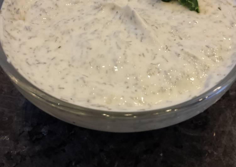 Steps to Prepare Super Quick Homemade Vegetable Dip