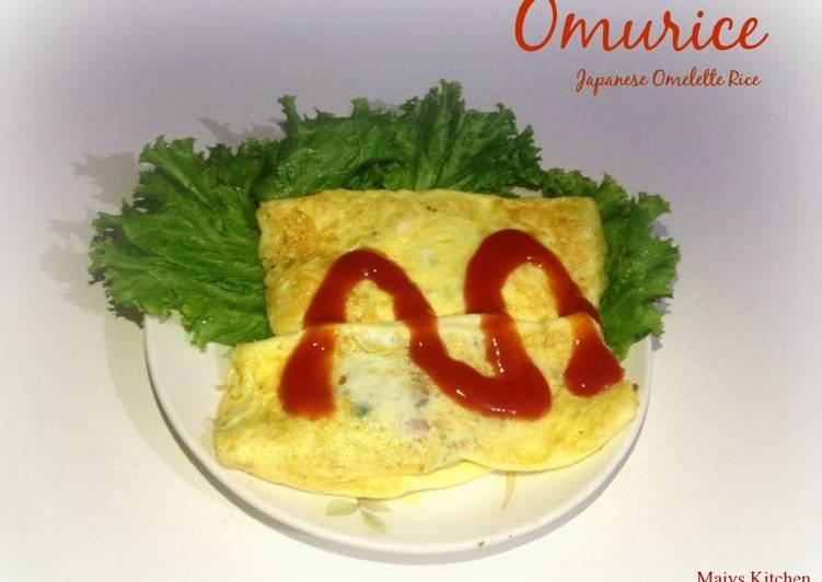 Easiest Way to Cook Appetizing OMURICE オムライス (JAPANESE OMELETTE RICE)