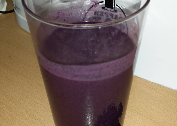 How to Cook Delicious Blackberry smoothie