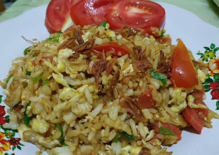 Nasgor Telur Tomat Orak Arik Anti Ribet