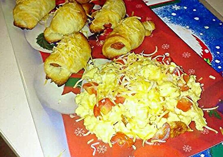 Splendid Cheddar Sausage Breakfast