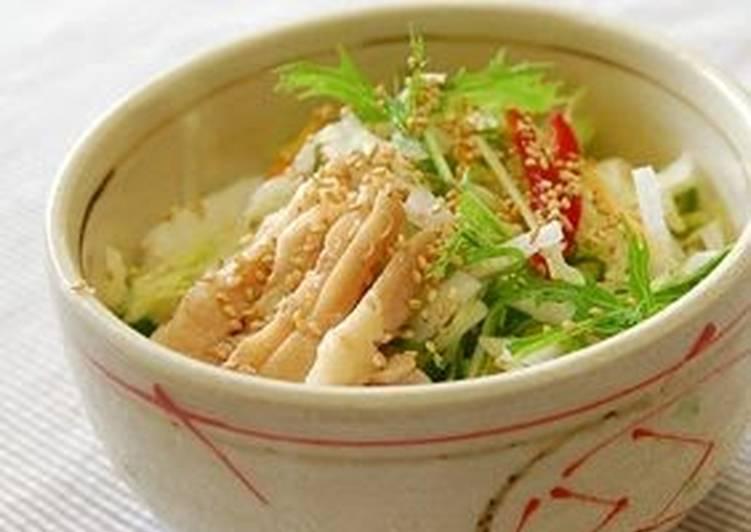Chicken Salad Ochazuke