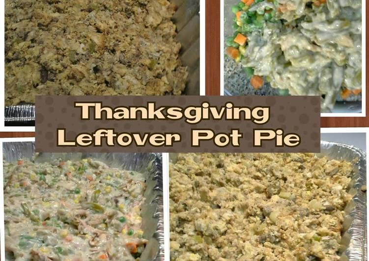 Easiest Way to Make Speedy Thanksgiving Leftover Pot Pie