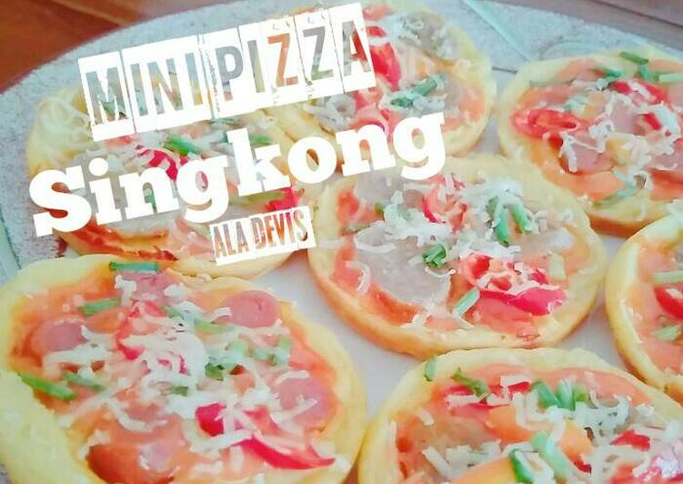 Mini Pizza Singkong Tradisional