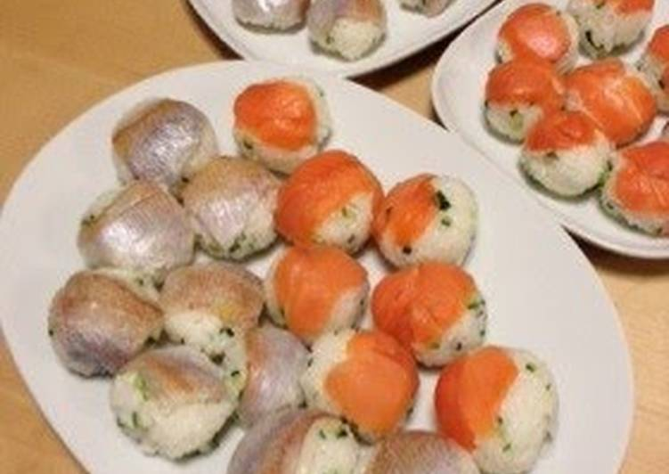 Step-by-Step Guide to Prepare Homemade Easy and Quick Temari Sushi
