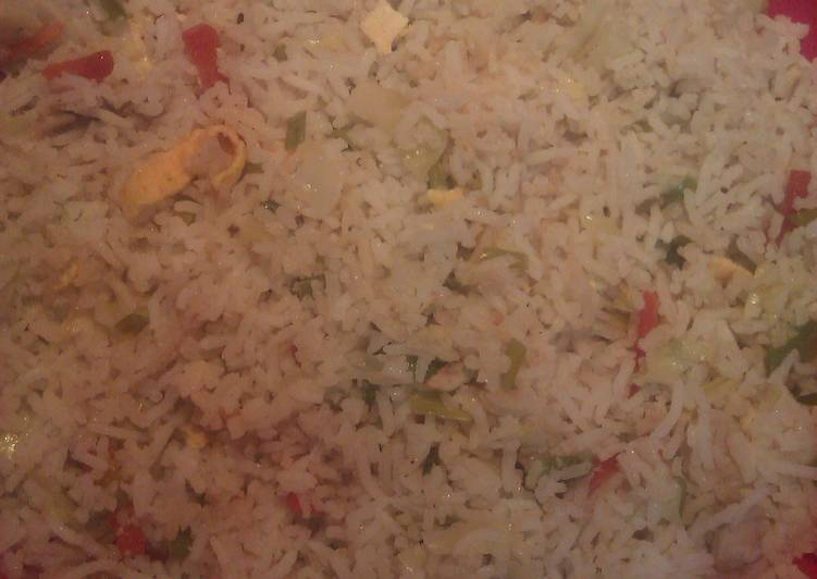 Easy n Simple Chinese Veggy Egg Fried Rice