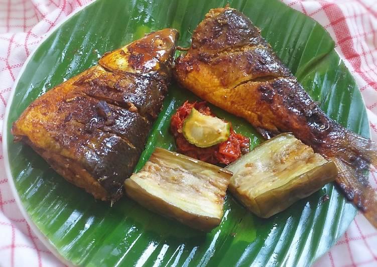 Ikan Bandeng Bakar Versi Happy Call