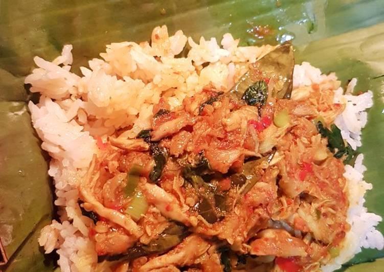 Nasi Bakar Ayam Kemangi
