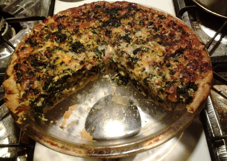 Easy Homemade Easy Kale Quiche Recipe