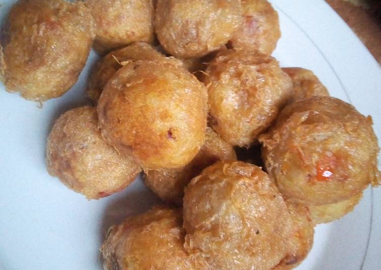 5 Minute Step-by-Step Guide to Make Summer Yam balls