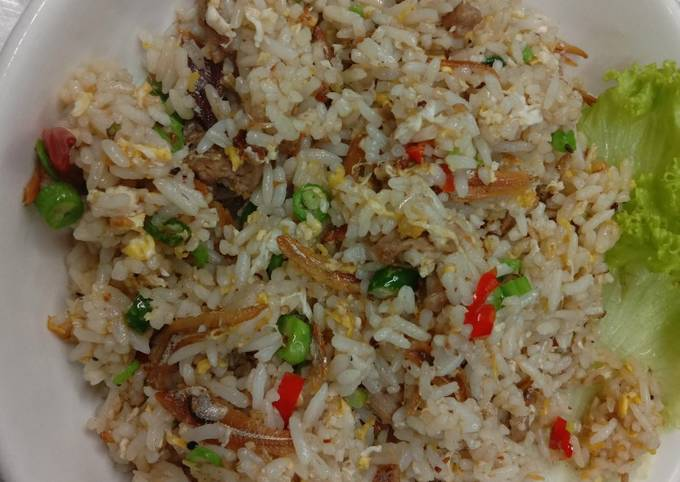 Nasi Goreng Kampung bujang style