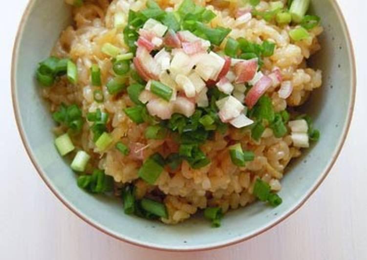 How to Make Ultimate Macrobiotic Ginger Brown Rice