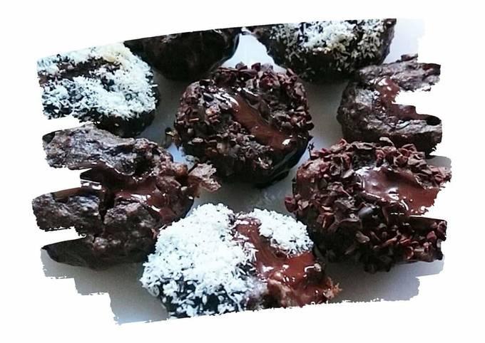 Muffins banana choco