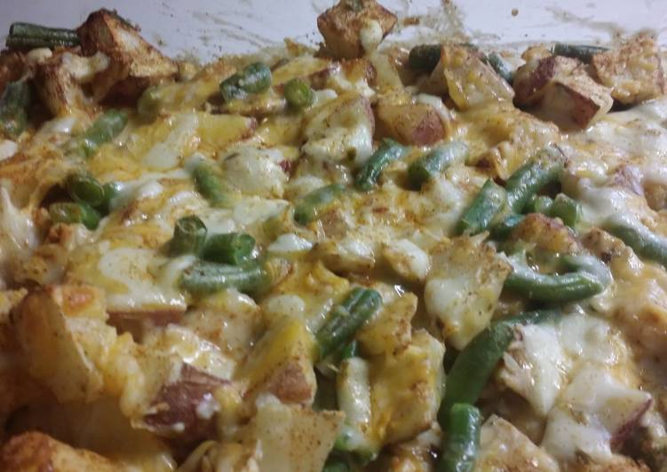 Chicken tator tot casserole with red potatoes and green beans, Heart Friendly Foods You Should Eat