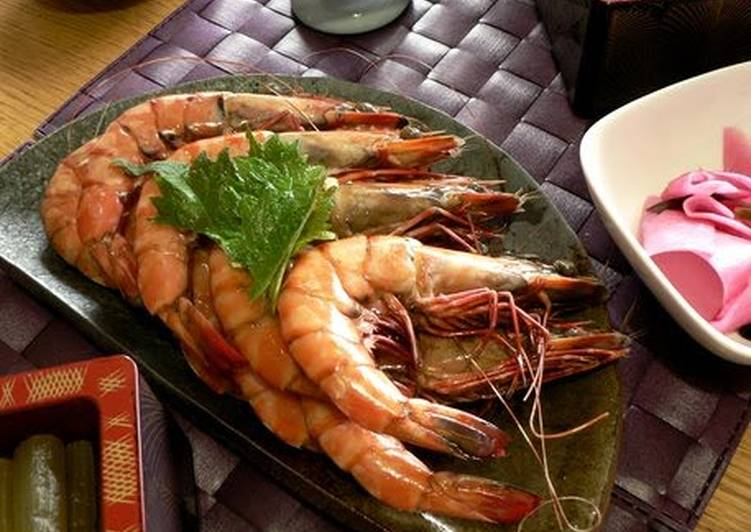 For The New Year Feast: Elegant and Delicious Simmered Shrimp