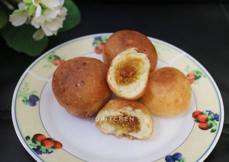 Kue Untuk-Untuk (Roti Goreng khas Banjar)