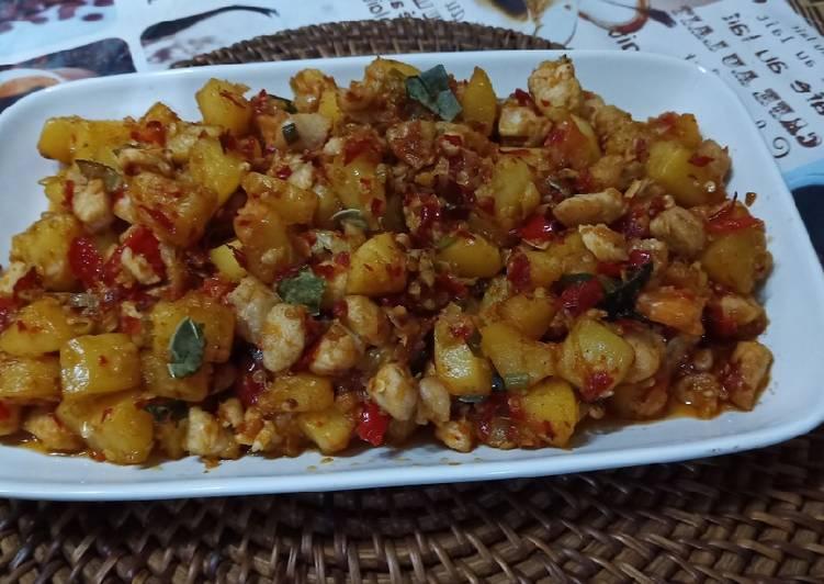 Ayam Rica-rica ala Dapur Praktis