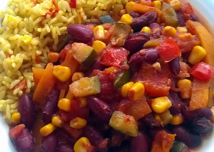 Vickys Slow-Cook Vegetable Chilli, GF DF EF SF NF