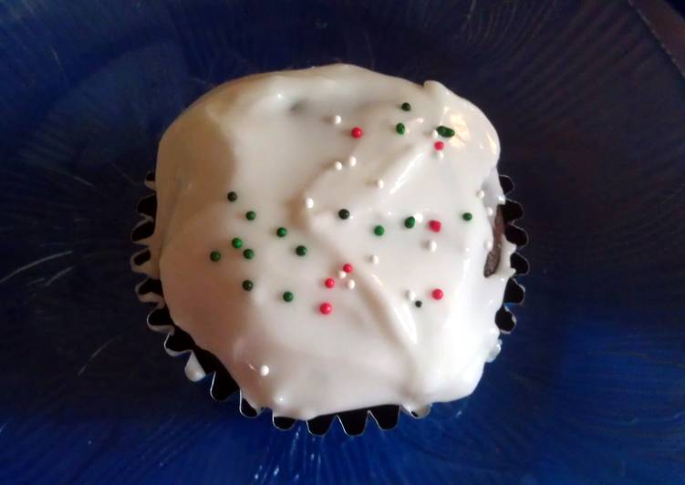 Macs chocolate orange cupcakes