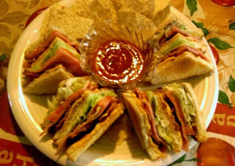 How to Make Perfect sunshine clubs sandwich
