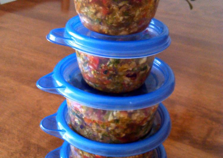 Recipe of Super Quick Homemade 2smile all purpose veggie mix
