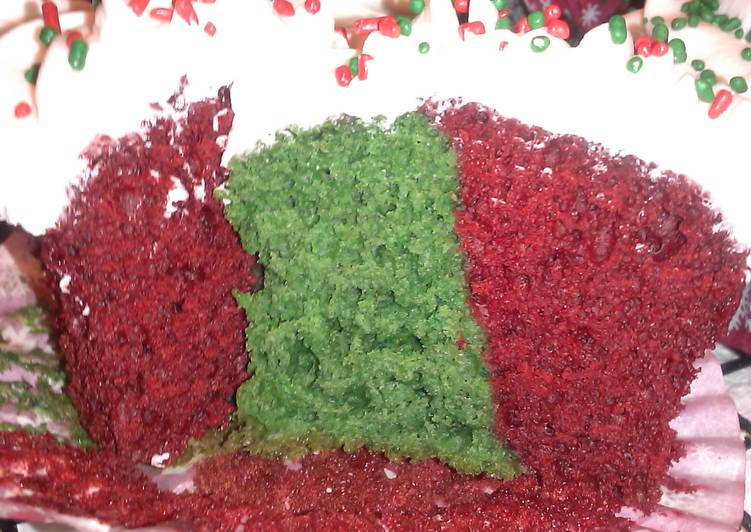 "Recipe of Ultimate "" Livetorides "" Holiday Velvet Cupcakes….."