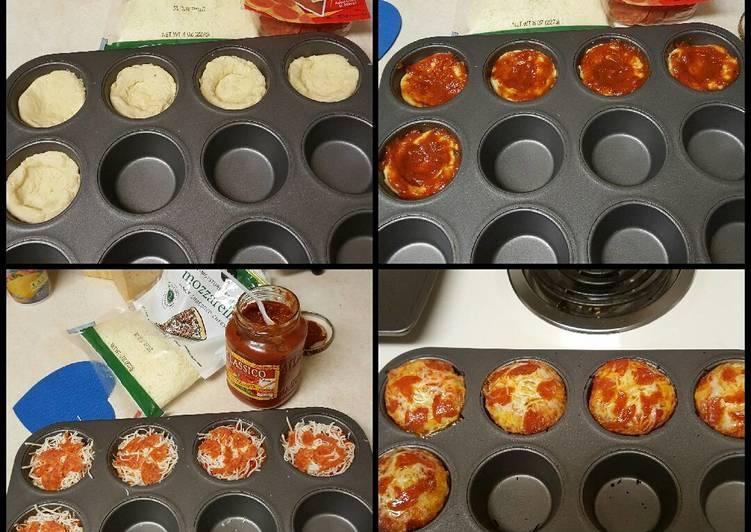 Steps to Prepare Speedy Mini Pizzas