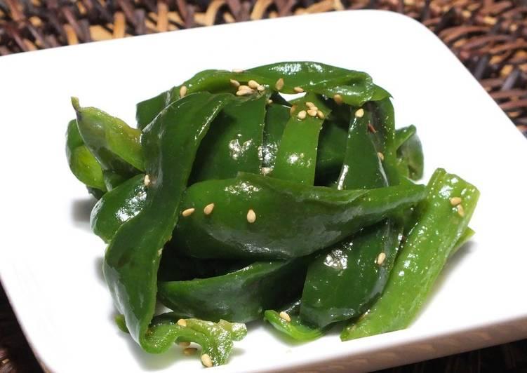 Green Pepper Namul