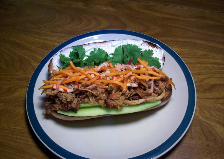 Recipe of Perfect Banh Mi (Vietnamese Pulled Pork Sandwich)