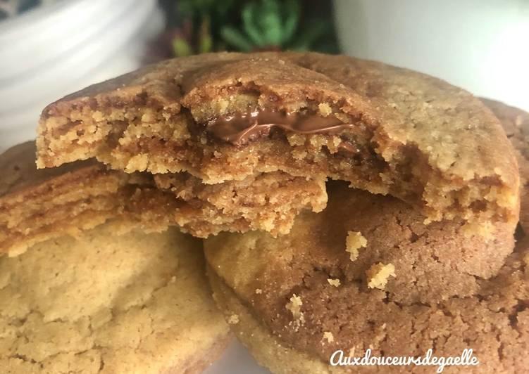 Comment Préparer Les Cookies 🍪 chocolat - beurre de cacahuètes