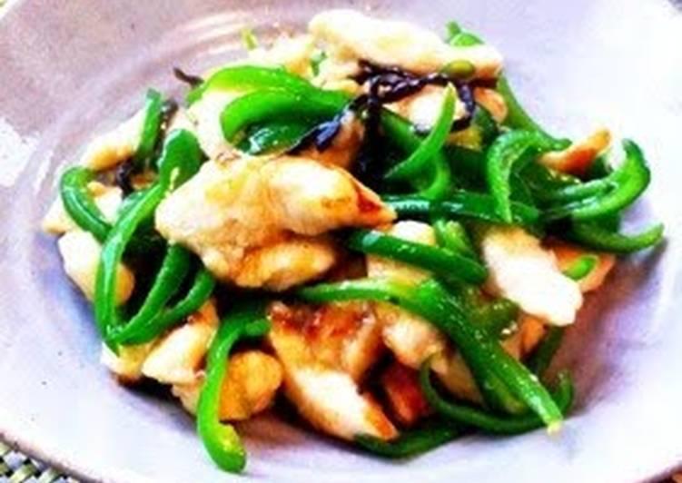 Recipe of Favorite With Shio-Koji! Tender and Flavorful Stir Fried Chicken Breast
