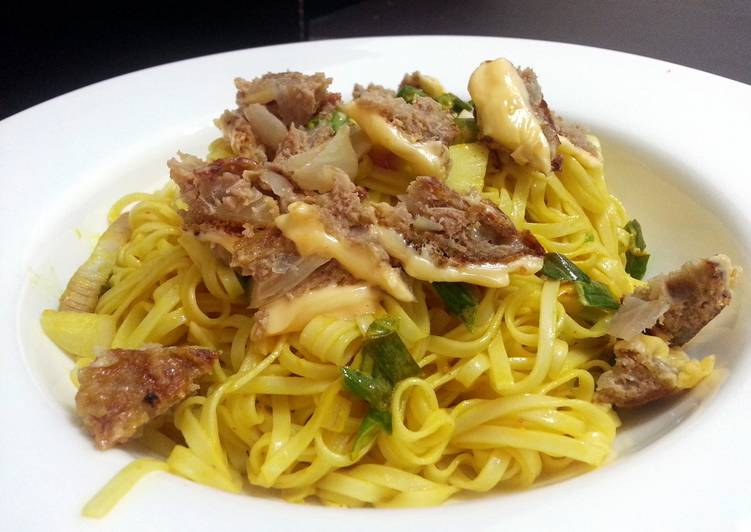 Meatloaf With Mustard Noodle